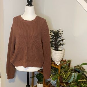 10 Tree Knit Sweater